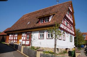 Ein liebevoll restauriertes denkmalgeschütztes Gebäude in Mähringen